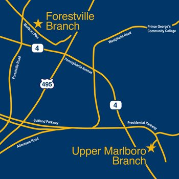 Germantown Branch Map